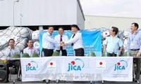 Pemerintah Jepang memberikan bantuan kepada Vietnam untuk mengatasi akibat bencana alam