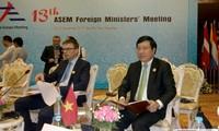Para Menlu ASEM sepakat memperkuat hubungan kemitraan demi perdamaian dan perkembangan yang berkesinambungan