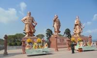 Kesan tentang kompleks situs peninggalan sejarah Bach Dang di kota Hai Phong