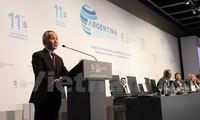Konferensi Menteri WTO: Vietnam menegaskan komitmen dengan sistim perdagangan multilateral