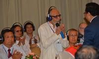 友好組織連合会、外国人との交流会開催