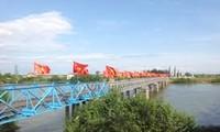 南北統一のシンボル ヒエンルォン橋