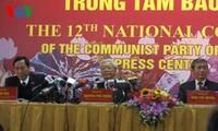 チョン書記長、第12回党大会閉幕後の記者会見