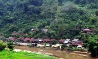 ホームスティ業を営むバックカン省パックゴイ村