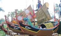 ホアンサ諸島の部隊を偲ぶ儀式