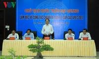 クアン国家主席、APEC首脳会議の準備作業を視察