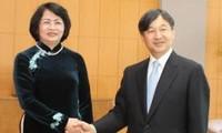 ティン国家副主席、天皇皇后両陛下を表敬訪問