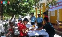 チュオンサ諸島の生きた血液バンク