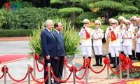 フック首相とトルコの首相の会談