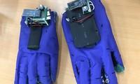 手袋型手話翻訳機