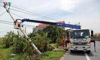 赤十字協会、台風被災者に15億ドンを支援