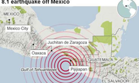 メキシコ地震、死者245人に…3日間「服喪」