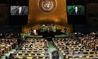 対北、韓国大統領が平和的解決を訴え…国連演説