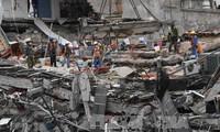 新たな地震で4人死亡、メキシコ