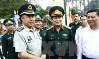 越中の国防協力 国境地帯の安定に貢献