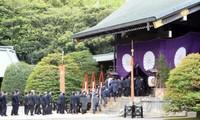 安倍首相、靖国神社に供物 参拝見送り 秋季例大祭