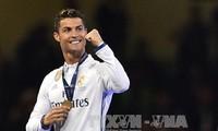 FIFA男子最優秀選手にクリスチアーノ ロナウド