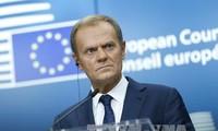 離脱交渉、10日以内に進展を=英首相に譲歩迫る-EU大統領