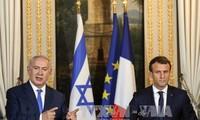 仏イスラエル首脳会談 エルサレムの議論は平行線