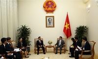 ダム副首相、韓国の副首相兼教育相と会見