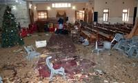 パキスタンの教会で自爆攻撃、9人死亡 ISが犯行声明