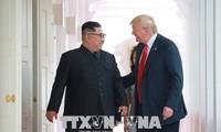 朝鮮メディア 重ねて「自主権」強調