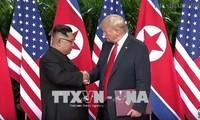 朝鮮民主主義人民共和国は「完全な非核化を直ちに開始」、トランプ氏が主張