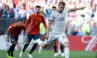 スペイン、ロシアにPK戦で敗れる イニエスタが代表引退を表明