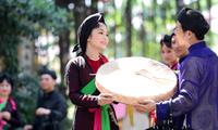 ベトナム北部バクニン省の民謡クアンホ