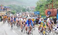 Penggalan jalan ke-4 lomba balap sepeda nasional yang diperluas ke Dien Bien Phu