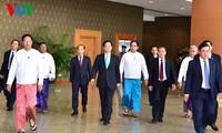 PM Nguyen Tan Dung tiba di Myanmar