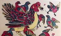 Hari Raya Tet-tahun ayam berbicara tentang ayam