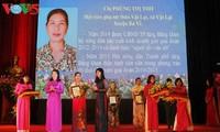 Saudari Phung Thi Tho-Seorang wanita yang mengubah tanah tandus menjadi lahan usaha tani senilai miliaran dong Vietnam