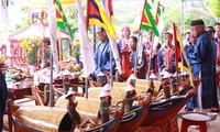 Perjamuan mengenangkan para prajurit Hoang Sa dulu di Balai Desa  An Vinh
