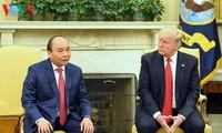 Menciptakan ancang-ancang bagi perkembangan baik  hubungan Vietnam-AS