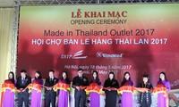 Barang dagangan Thailand menarik para konsumen Vietnam