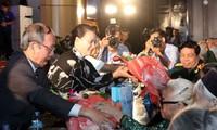 Pimpinan Pemerintah dan MN menghadiri aktivitas-aktivitas memperingati ulang tahun ke-70 Hari Prajurit Disabilitas dan Martir Vietnam