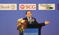 PM Nguyen Xuan Phuc menghadiri Forum Kerjasama Ekonomi Vietnam-Thailand