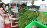Mengkonektivitaskan penawaran dan permintaan tentang hasil pertanian yang bersih dan aman