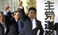 Persekutjan yang berkuasa pimpinan PM Jepang, Shinzo Abe mencapai keunggulan besar menjelang pemilu