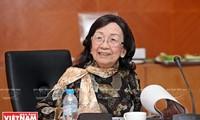 Profesor Pham Thi Tran Chau: Mencintai Tanah Air berarti melaksanakan pekerjaan sebaik-baiknya