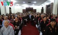 Numerosas actividades en saludo al Aniversario 2561 de la iluminación del Buda