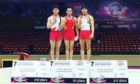 Gimnasia de Vietnam gana medalla de oro en el campeonato de Asia