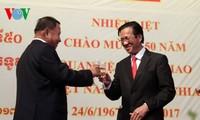 Celebran en Pnom Penh el 50 aniversario de vínculos diplomáticos Vietnam-Camboya