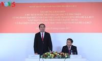 Presidente vietnamita se reúne con compatriotas en ocasión de su viaje a Bielorrusia