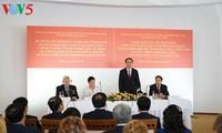 Mandatario vietnamita inicia su agenda de trabajo en la República de Bielorrusia