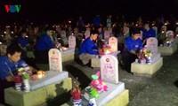 Continúan eventos en gratitud a los héroes, inválidos de guerra y mártires de Vietnam