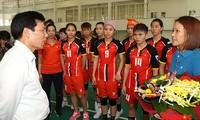 Vietnam en preparación para su participación en los Juegos Deportivos del Sudeste Asiático