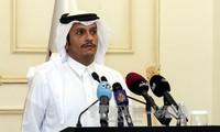 Canciller de Qatar: Necesita tiempo para restablecer los vínculos en el Golfo