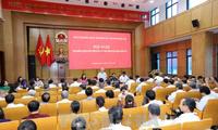 Líderes de Vietnam dialogan con los electores de Hanói y Thai Nguyen